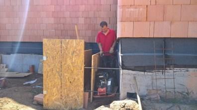 Hutnění hlíny a recyklátu