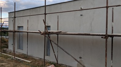 Fasáda domu do stěrky