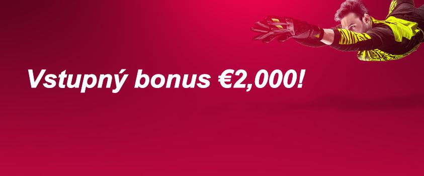 DOXXbet vstupný bonus
