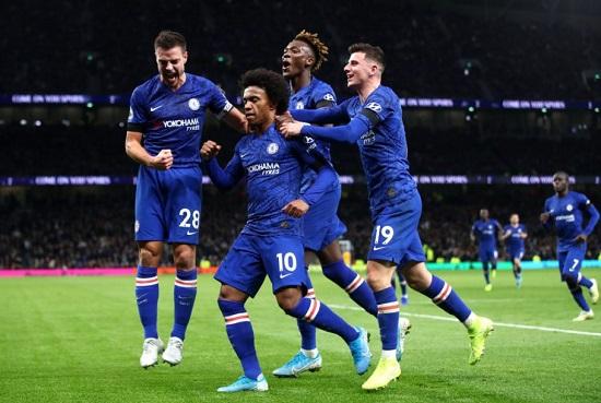 Chelsea osalva gólu