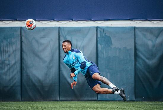 Manchester City tréning