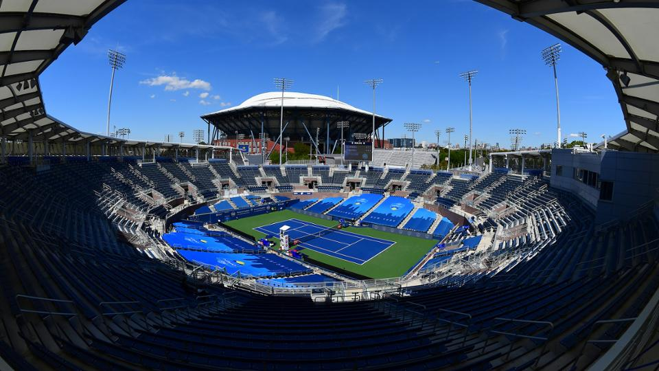 New York City US Open tennis court