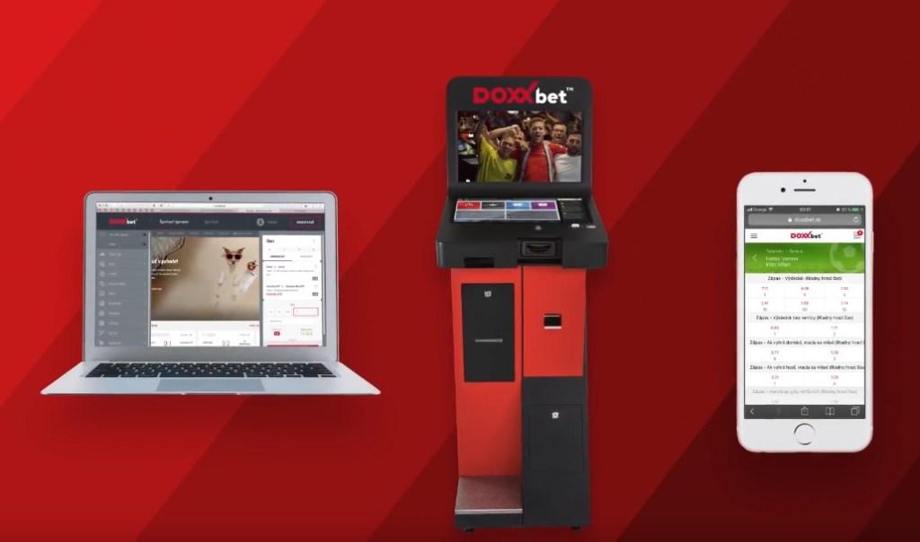 Stávková kancelária DOXXbet mobil, web, Sportbox
