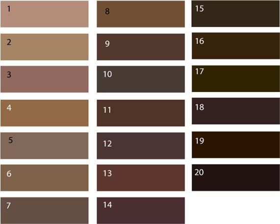 Цвета коричневого фото – фото оттенков (светло, темно ...
