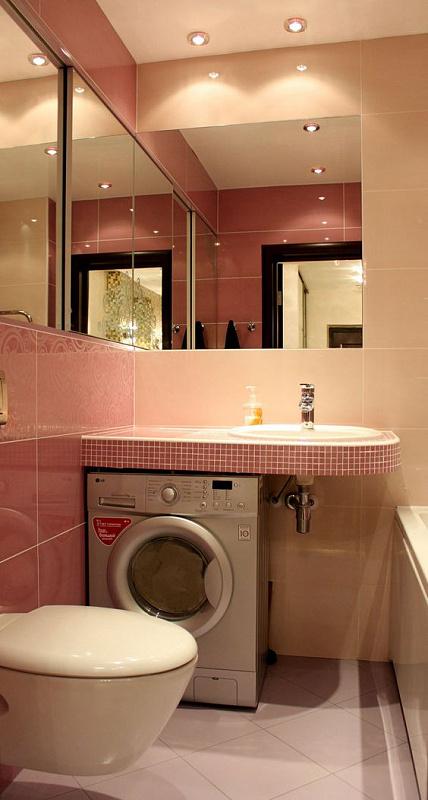 Фото ниша для стиральной машины в ванной: Куда поставить ...