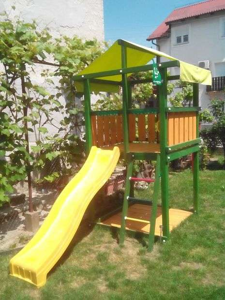 Детская площадка во дворе своими руками – Детская площадка ...