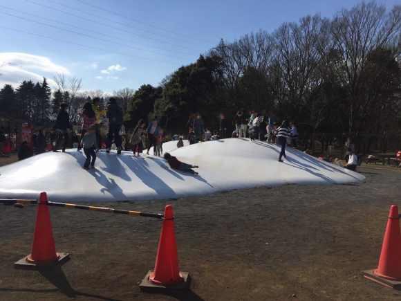 小金井公園 ふわふわドーム2