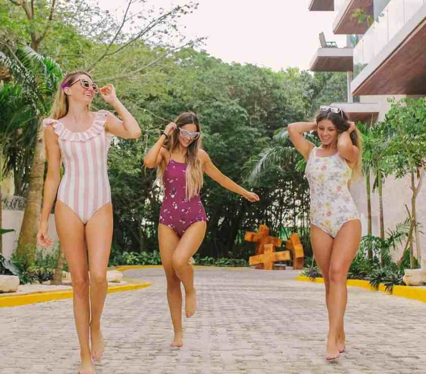 One piece swimwear trends 2020