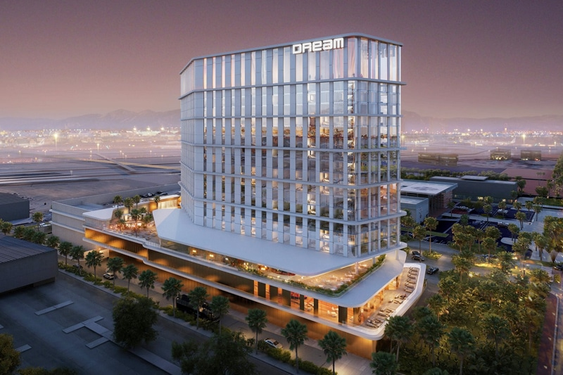 Dream Hotel Approved Despite Awkward Proximity to Airport