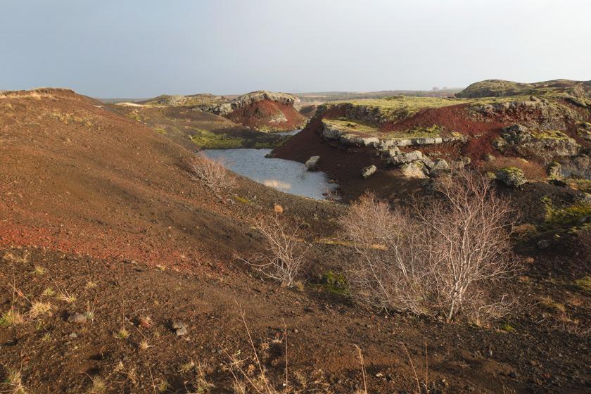 View across landscape