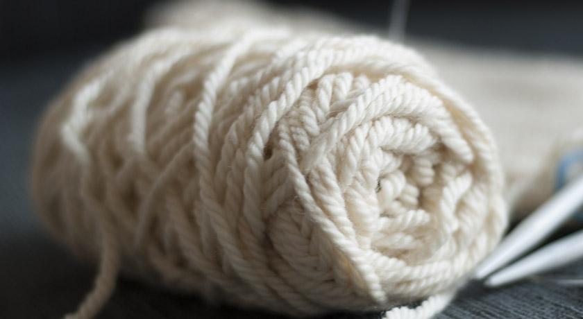 Rowan chunky cream wool
