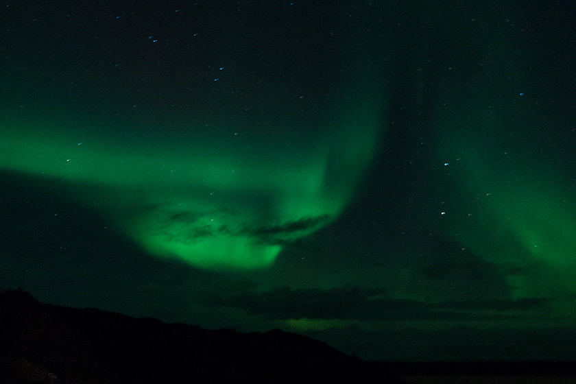 Rising Northern Lights