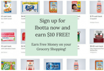 Get paid to grocery shop! Earn $10 free when click and sign up through my referral link!