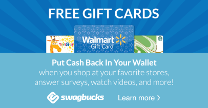 Earn extra money with surveys, videos, internet searches etc with Swagbucks!