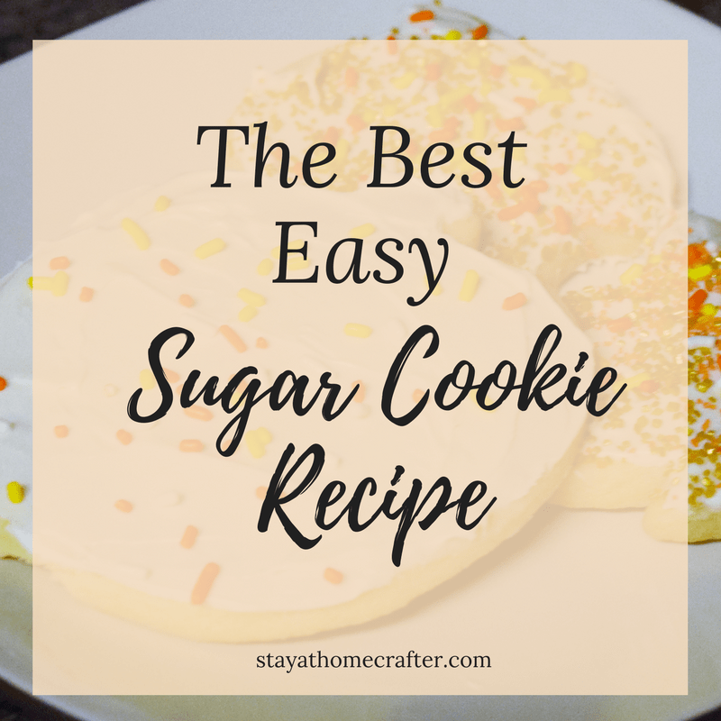 The Best Easy Cutout Sugar Cookies. Perfect cookies everytime! Simple ingredients combined into a chewy delicious fantastic sugar cookie. Perfect for decorating! Repin now for later!