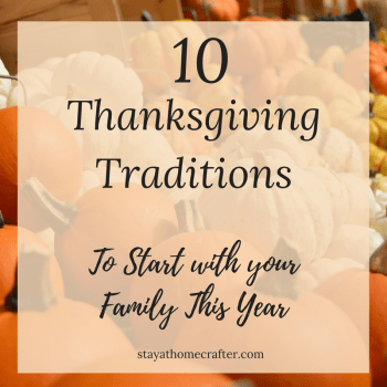 Thanksgiving Traditions to Start with your Family This Year. Easy, fun traditions that prepare our hearts for the Christmas holiday. Repin now for later!