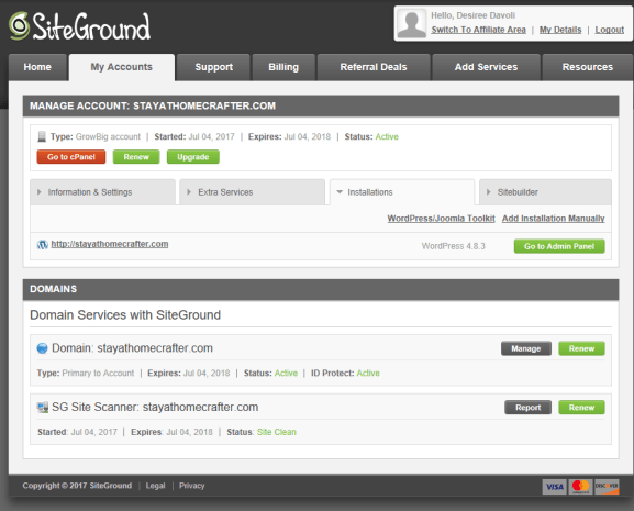 Start a Money Making Mom Blog with Siteground. Learn why Siteground is the best host for bloggers, both new and established! Plus, follow this step by step guide to start your own blog today! Repin now for later!