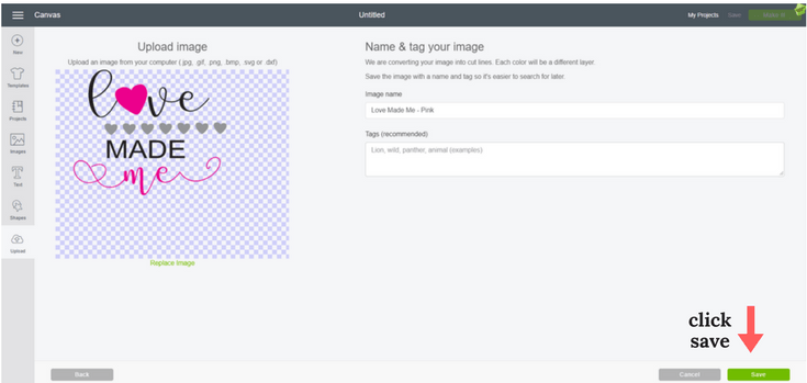 SVG files are great for creating Cricut projects. Here is a step-by-step guide for uploading documents to the Cricut Design Space software.