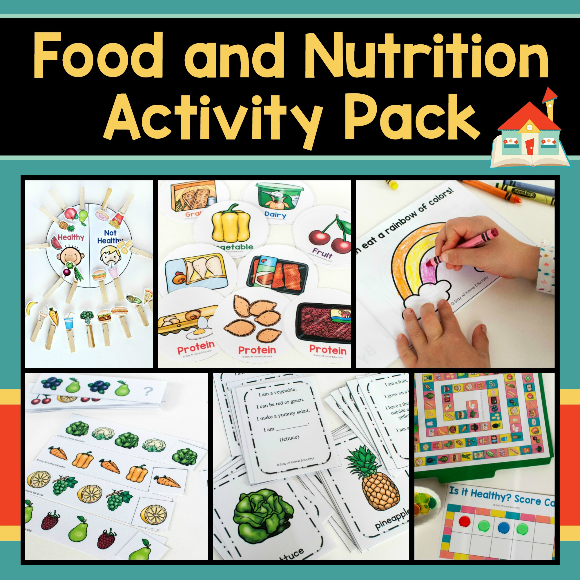 Healthy And Unhealthy Food Lesson Plan For Kindergarten