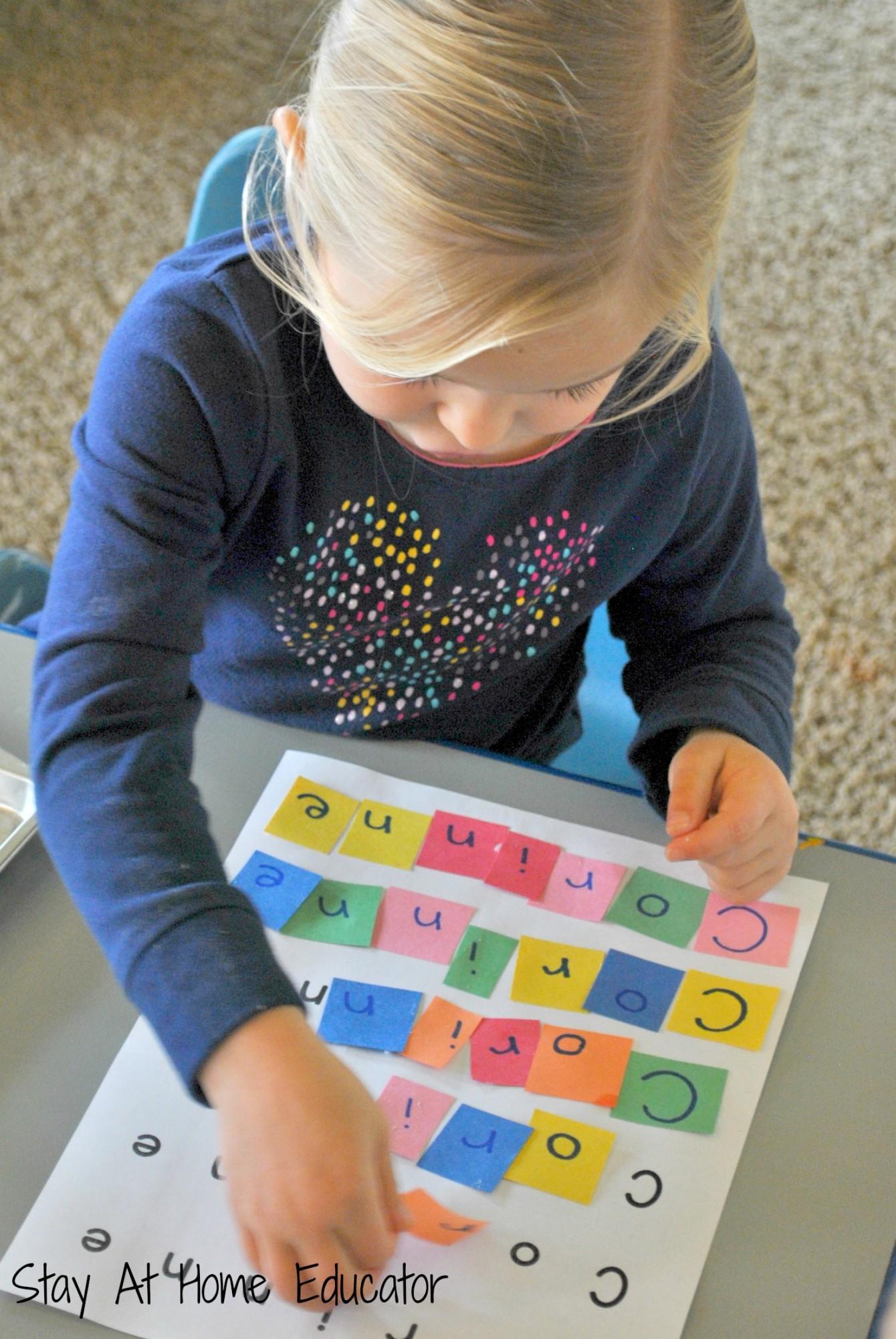 Letter Tile Names
