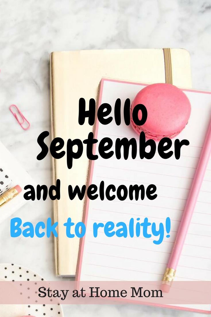 Επιστροφή στην καθημερινότητα και πως να το αντέξετε! Welcome back to reality after summen. Hello September