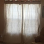 Diy Shabby Chic Curtains From A Drop Cloth Stay At Home Zookeeper