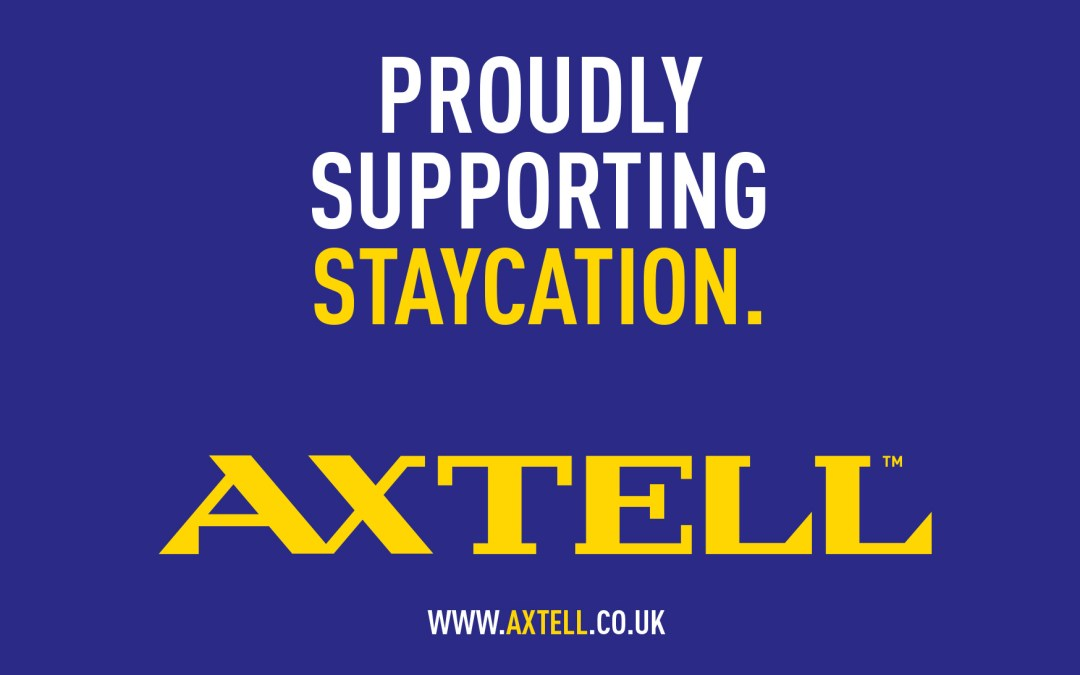 Axtell are proud to support Staycation Live 2018