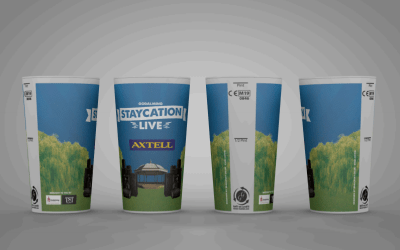 Sunstainability at the festival + reusable cups