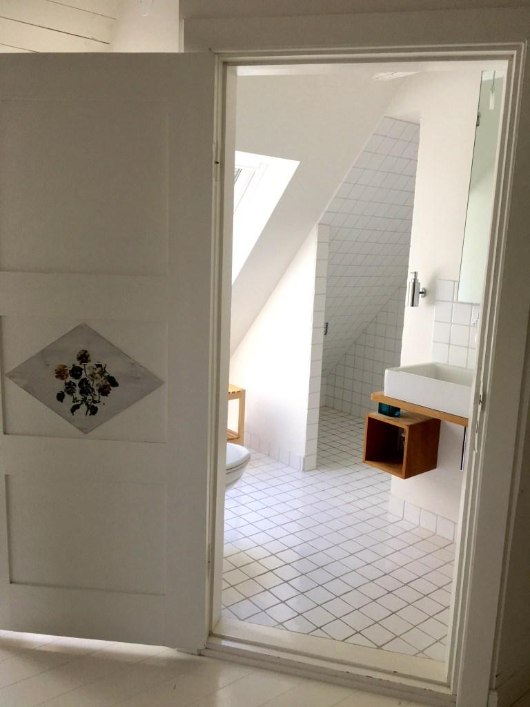 Shower on third floor