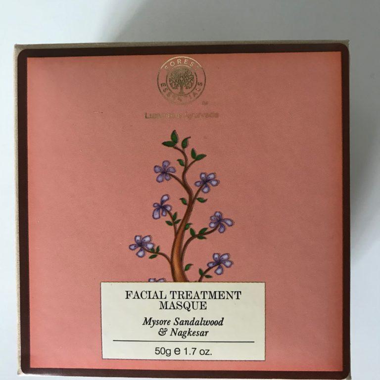 Forest Essentials Mysore Sandalwood and Nagkesar Facial Treatment