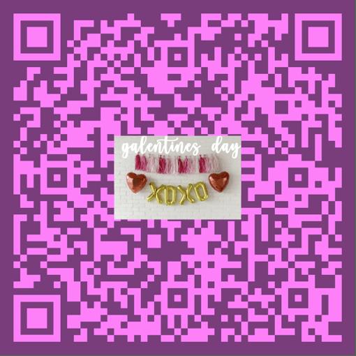 qr code galentines