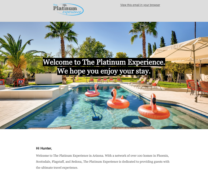 Vacation Rental Email Marketing