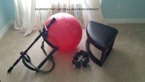 my home beachbody equipment