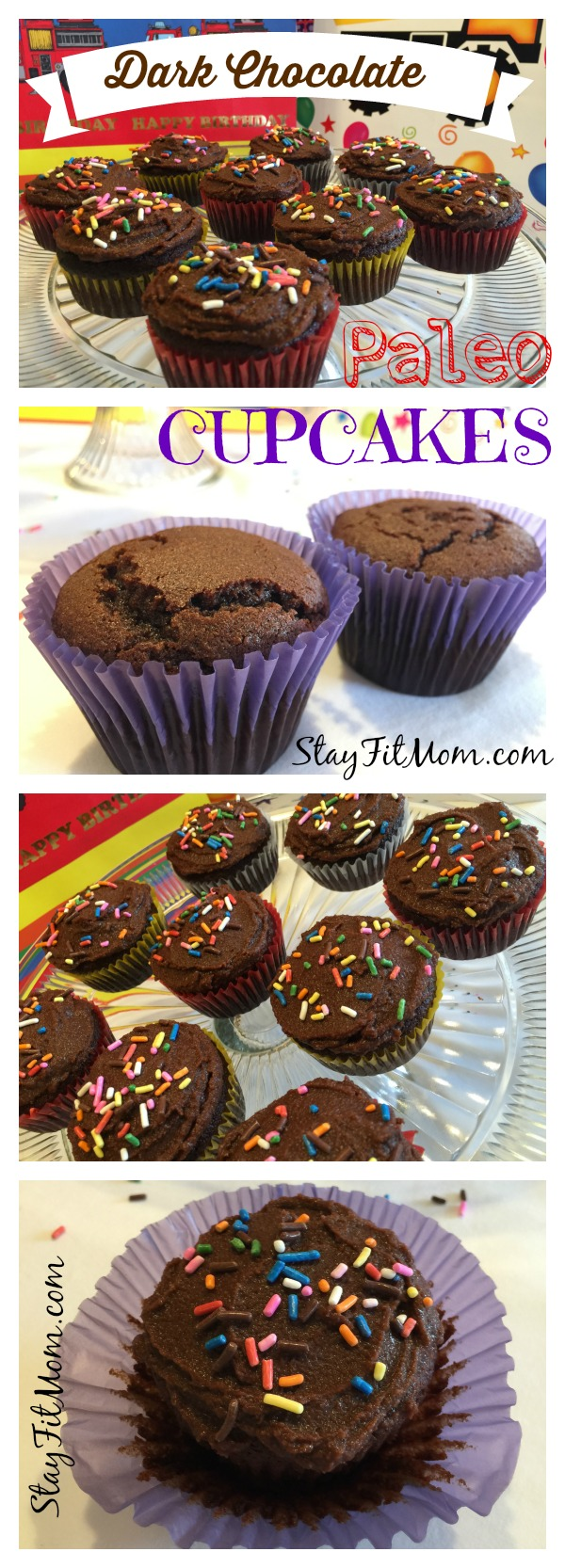 Moist Paleo Cupcakes perfect for a special occasion