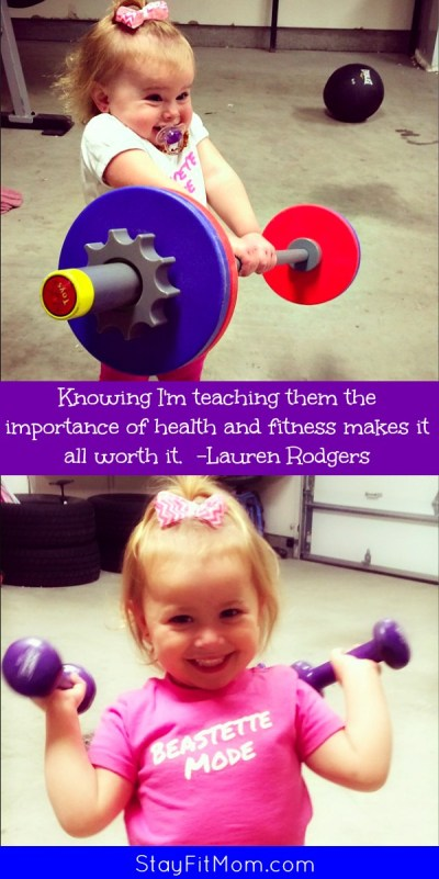 Teach your kids the importance of health and fitness and lead by example!