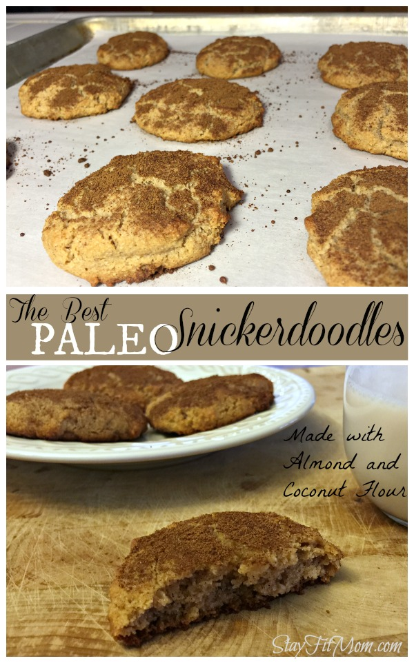 These grain free snickerdoodles are excellent!