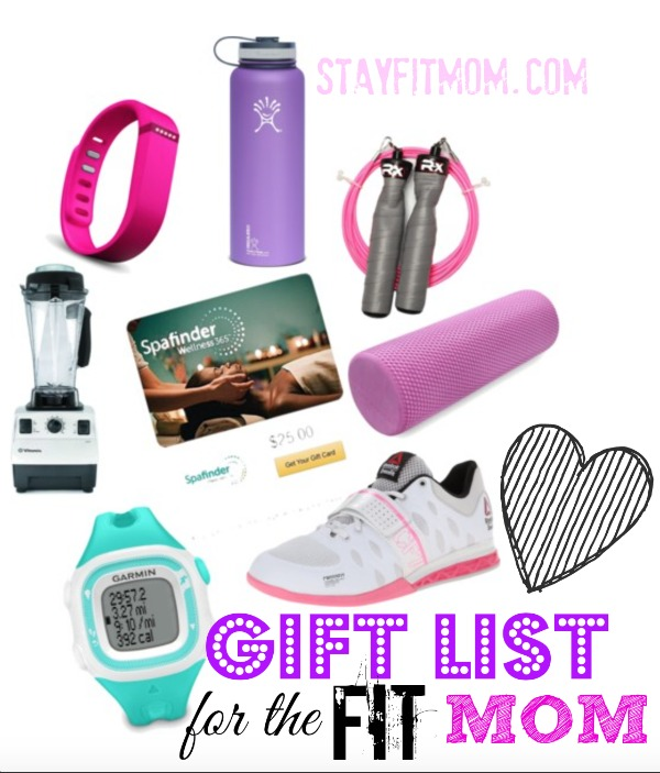 Love these Gift ideas for the Fit Mom from Stay Fit Mom!