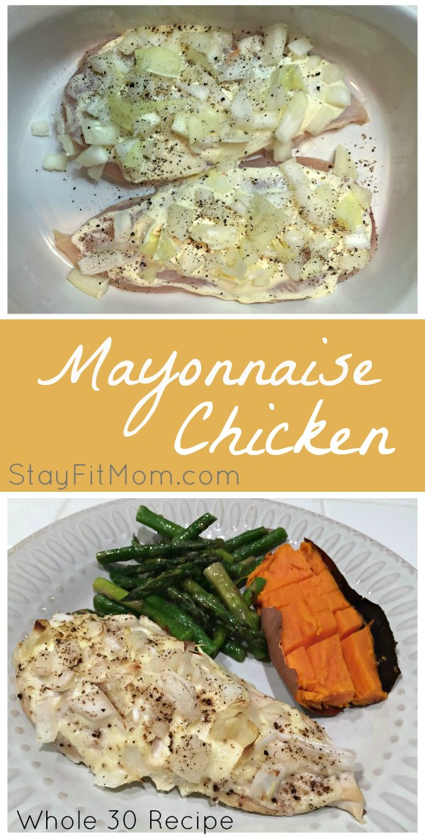 Mayonaise Chicken Recipe- This looks super easy and tasty!