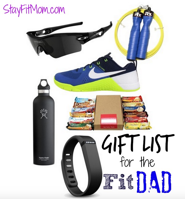 Great gift ideas for the fit dad from StayFitMom.com