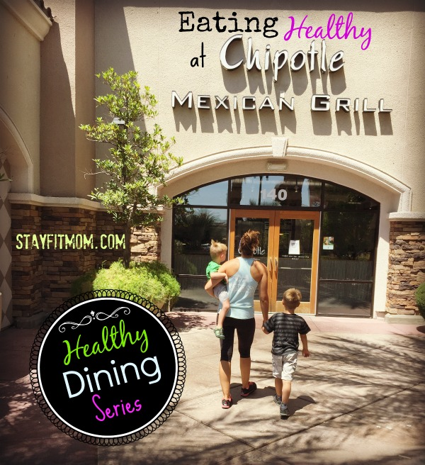 Ever wonder what the best menu options are for eating healthy on the go? This Stay Fit Mom Healthy Dining Series has got you covered!