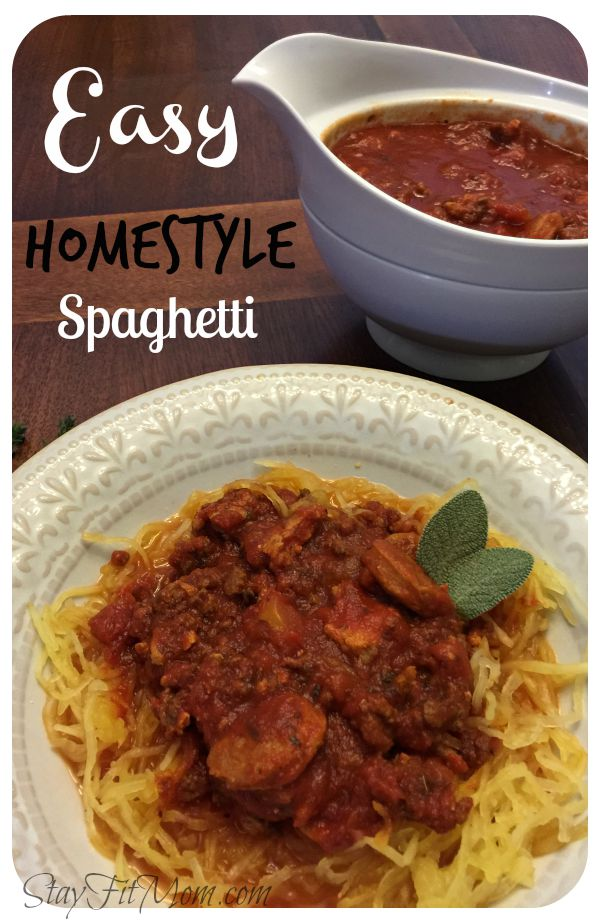 Super easy and amazingly delicious spaghetti recipe!