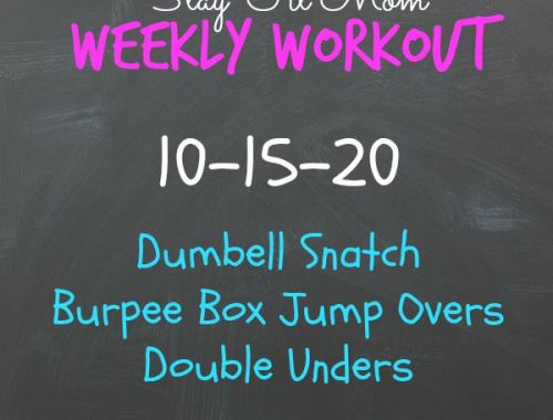 Free Weekly Workouts you can do at home. There are lots of ideas on this website all for free!