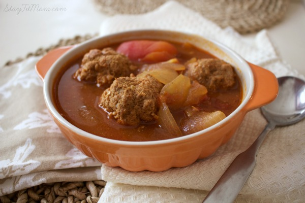 Super simple meatball soup for a fall weeknight meal.