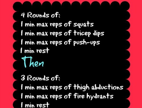 Get fit at home, no equipment needed workouts every week!