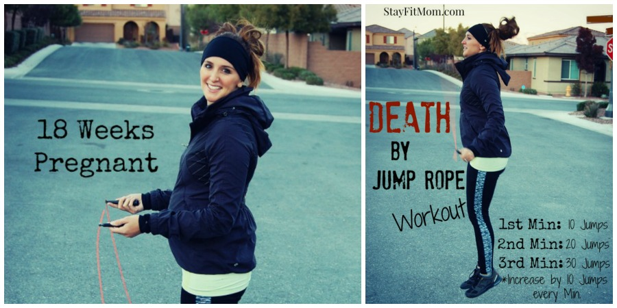 The perfect workout to do at home! All you need is a jump rope! Stay Fit Mom posts new workouts every week!