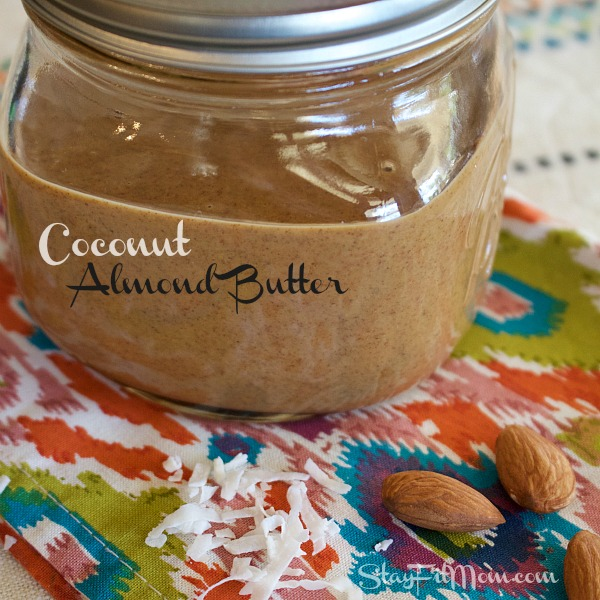 How to make creamy, coconut almond butter. It is so yummy!