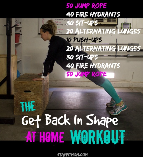 I'm going to try out a few of these Stay Fit Mom Workouts this week!