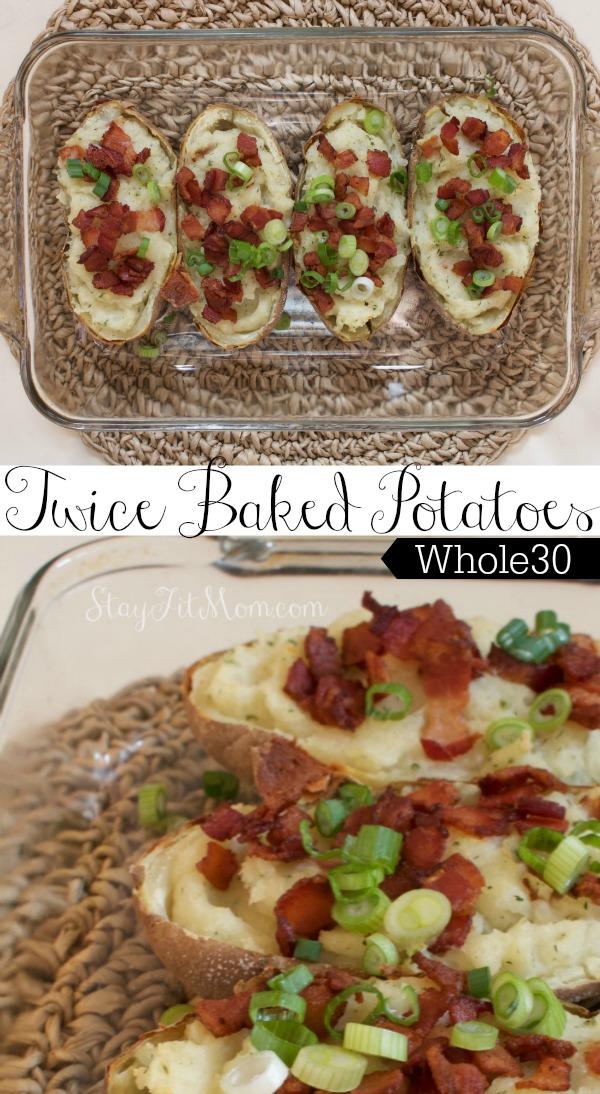 These twice baked potatoes look amazing!! I've got to try these dairy free potatoes.