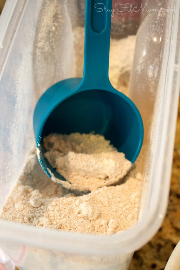 oat flour is a much healthier alternative to tradition flour and works great for baking.