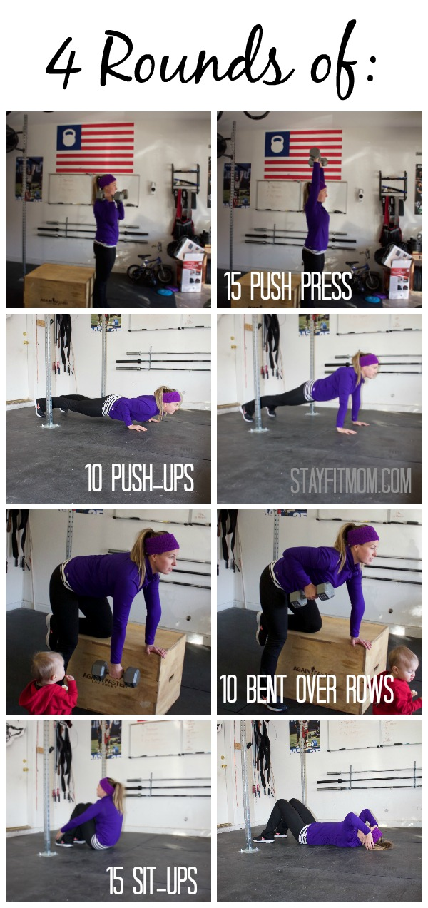 Simple, easy to follow workouts for home